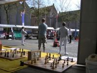 SportInfoMarkt met Schaakclub Pegasus Zwolle