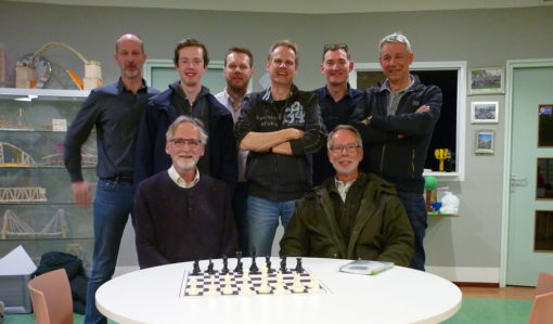 Slotronde eerste team in Arnhem in april 2019